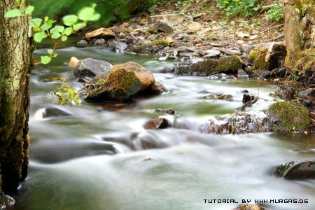 Tutorial Fließendes Wasser